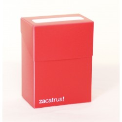 Deck Box Zacatrus Rojo