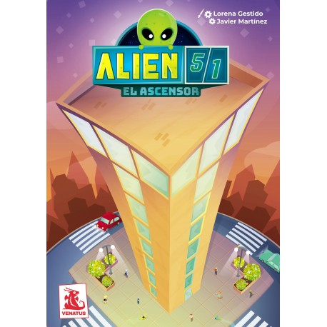 Alien 51: El Ascensor. Venatus Ediciones