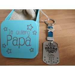 Llavero personalizado Día Del Padre