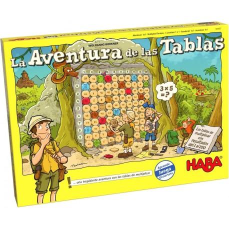 La aventura de las tablas. HABA