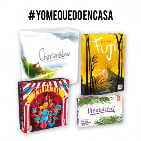 Pack YoMeQuedoEnCasa Maldito Games