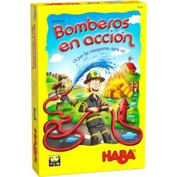 Bomberos en acción. HABA.