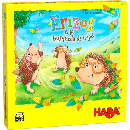 Erizos – A la búsqueda de hojas. HABA.