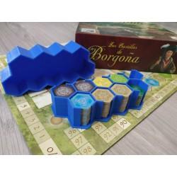 Caja porta-losetas Castillos de Borgoña