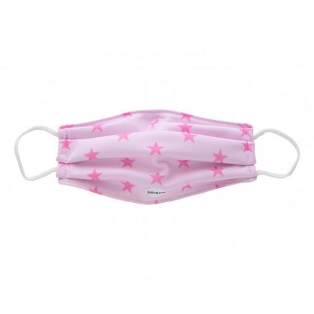 Mascarillas infantiles Reutilizables Triple Capa FFP3 - Estrellas Rosa