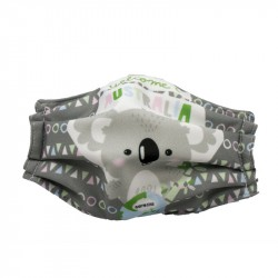 Mascarillas infantiles Reutilizables Triple Capa FFP3 - Koala
