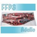 Mascarillas Adulto Reutilizables Triple Capa FFP3 - Estampada