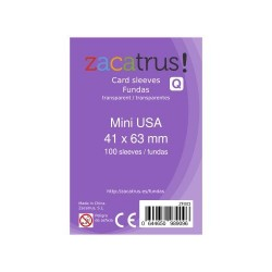 Fundas Mini USA STANDARD (41 mm x 63 mm) - 100 Uds. ZACATRUS