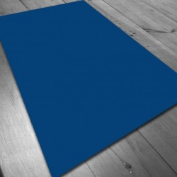 Tapete Neopreno 150x90 cm. Azul Liso
