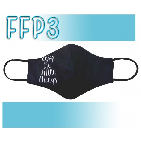 Mascarillas Adulto Reutilizables Triple Capa FFP3 - Pico de Pato Enjoy the Little Things