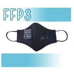 Mascarillas Reutilizables Triple Capa FFP3 - Pico de Pato A quien madruga un buen café le ayuda