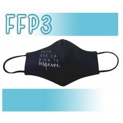 Mascarillas Reutilizables Triple Capa FFP3 - Pico de Pato Deja que la vida te despeine
