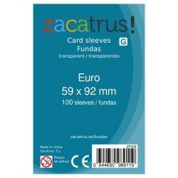 Fundas Euro STANDARD (59 mm X 92 mm) - 100 uds. ZACATRUS