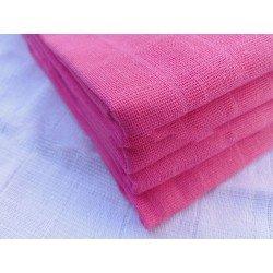 Gasa 100% algodón 70x70 cm - Rosa Fucsia