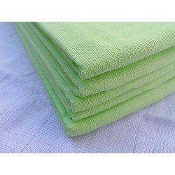 Gasa 100% algodón 70x70 cm - Verde Lima