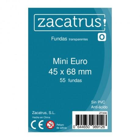 Fundas Mini Euro STANDARD (45 x 68 mm)- 55 uds. ZACATRUS