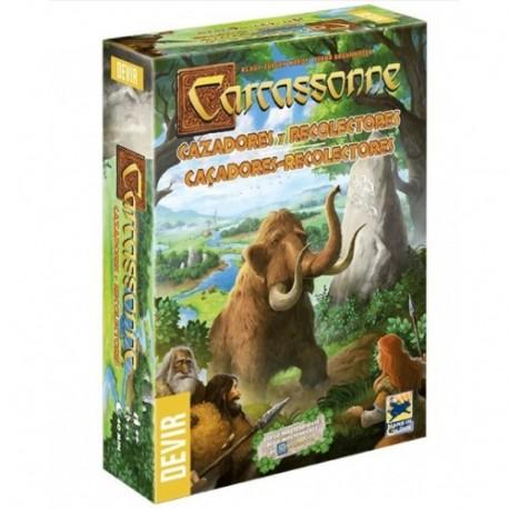 Carcassonne: Cazadores y recolectores (Nueva Edición)