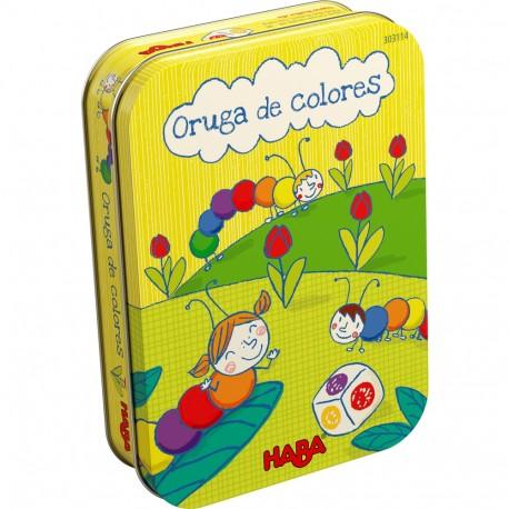 ORUGA DE COLORES. HABA