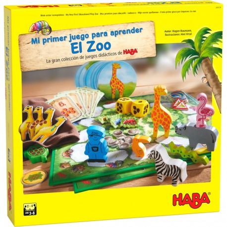 Mi primer juego para aprender: El Zoo. HABA