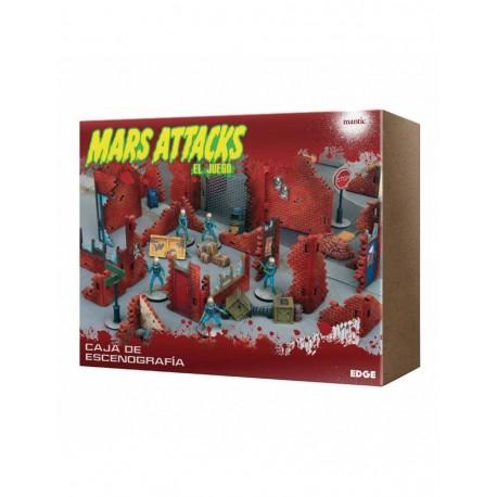 Mars Attacks: Caja de escenografía (RESERVA)