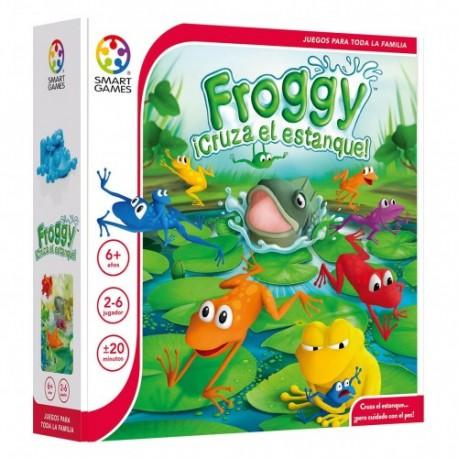 Froggy Cruza el Estanque