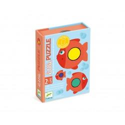 Little PUZZLE - Primer juego de cartas de asociación. DJECO