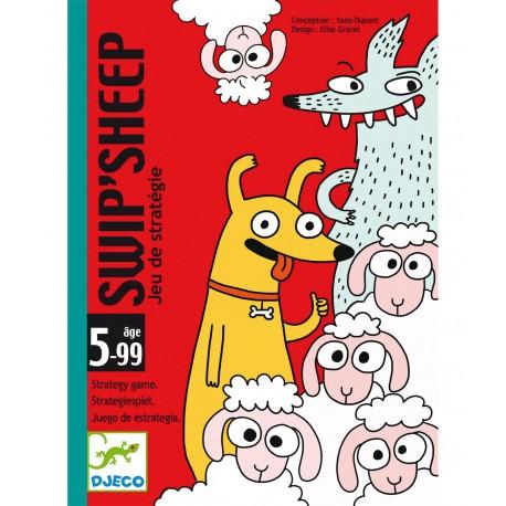 Cartas Swip'Sheep. DJECO