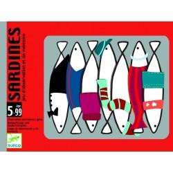 Cartas Sardines. DJECO