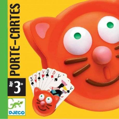 Sujetador de cartas Gato. DJECO