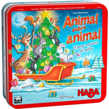 Animal sobre Animal: Edición Navidad. HABA