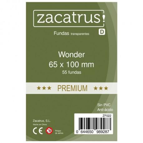 Fundas Wonder PREMIUM (65 mm X 100 mm) - 55 uds. ZACATRUS