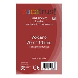 Fundas Volcano STANDARD (70 mm X 110 mm) - 100 uds. ZACATRUS