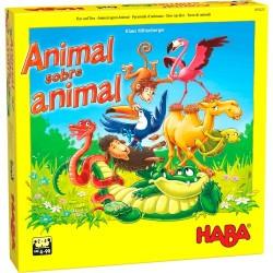 Animal sobre animal: El tambaleante juego de apilar. HABA