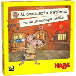Al comisario Ratónez no se le escapa nadie. HABA