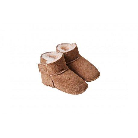 Botas para bebé sin suela en piel de cordero Fellhof