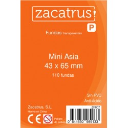 Fundas Mini Asia STANDARD (43 mm X 65 mm) - 110 uds. ZACATRUS