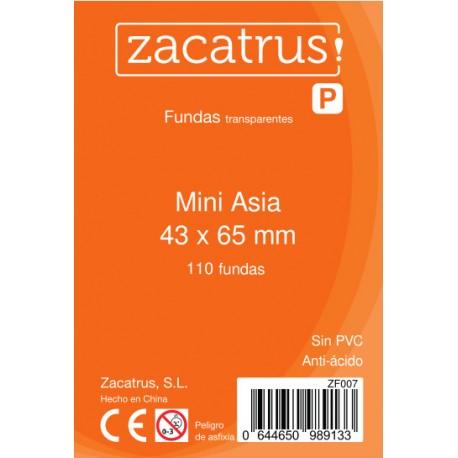 Fundas Mini Asia STANDARD (43 mm X 65 mm) - 100 uds. ZACATRUS
