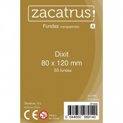 Fundas Dixit STANDARD (80 mm x 120 mm) - 55 Uds. ZACATRUS