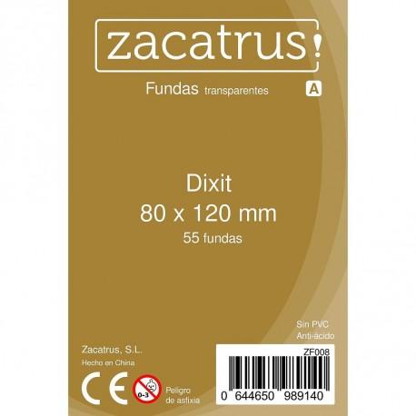 Fundas Dixit STANDARD (80 mm x 120 mm) - 100 Uds. ZACATRUS
