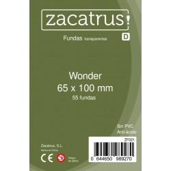 Fundas Wonder STANDARD (65 mm X 100 mm) - 55 uds. ZACATRUS