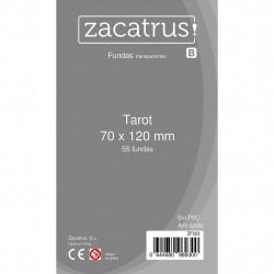 Fundas TAROT STANDARD (70 x 120 mm) - 55 Uds. ZACATRUS