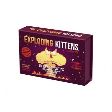 Exploding Kittens: Party Pack (PRE-VENTA)
