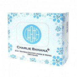Forros bambú 100 unidades charlie banana