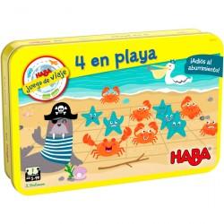 4 en Playa. HABA