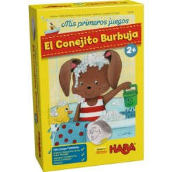 El Conejito Burbuja. Mis Primeros juegos. HABA