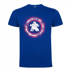 Camiseta unisex Capitán Meeple