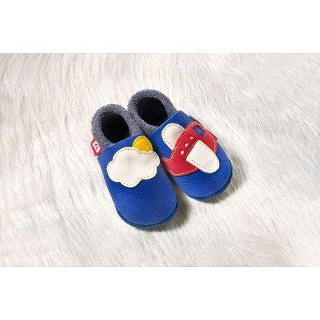 Zapatos Pololo Soft sin suela Avión