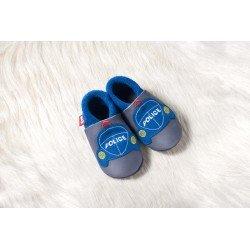 Zapatos Pololo Soft sin suela Coche Policía