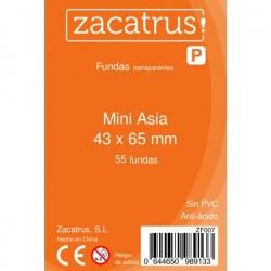 Fundas Mini Asia STANDARD (43 mm X 65 mm) - 55 uds. ZACATRUS