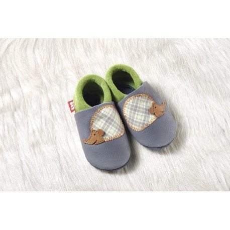 Zapatos Pololo Soft sin suela Erizo